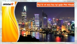 Đại lý vé máy bay giá rẻ tại quận Phú Nhuận của Jetstar