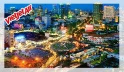 Đại lý vé máy bay giá rẻ tại Sài Gòn của Vietjet Air