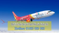 Đại lý vé máy bay giá rẻ tại Thanh Hóa của Vietjet Air