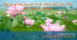 Đại lý vé máy bay giá rẻ tại thành phố Tuy Hòa của Vietnam Airlines