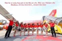 Đại lý vé máy bay giá rẻ tai thị xã An Khê của Vietjet Air