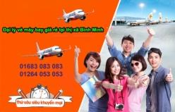 Đại lý vé máy bay giá rẻ tại thị xã Bình Minh của Jetstar
