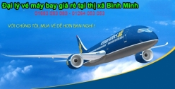Đại lý vé máy bay giá rẻ tại thị xã Bình Minh của Vietnam Airlines chuyên nghiệp Đại lý vé máy bay giá rẻ tại thị xã Bình Minh của Vietnam Airlines
