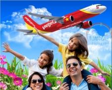 Đại lý vé máy bay giá rẻ tại thị xã Cửa Lò của Vietjet Air