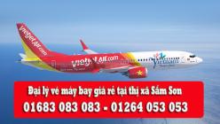 Đại lý vé máy bay giá rẻ tại thị xã Sầm Sơn của Vietjet Air Đại lý vé máy bay giá rẻ tại thị xã Sầm Sơn của Vietjet Air