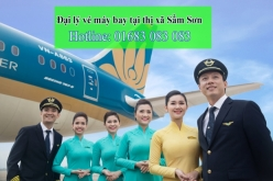 Đại lý vé máy bay giá rẻ tại thị xã Sầm Sơn của Vietnam Airlines Đại lý vé máy bay giá rẻ tại thị xã Sầm Sơn của Vietnam Airlines