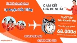 Đại lý vé máy bay giá rẻ tại huyện Dầu Tiếng của Jetstar