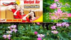 Đại lý vé máy bay giá rẻ tại huyện Tân Hồng của Vietjet Air bán vé rẻ nhất thị trường Đại lý vé máy bay giá rẻ tại huyện Tân Hồng của Vietjet Air