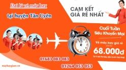 Đại lý vé máy bay giá rẻ tại huyện Tân Uyên Bình Dương của Jetstar