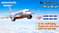 Đại lý vé máy bay giá rẻ tại Thị xã Cai Lậy của Jetstar
