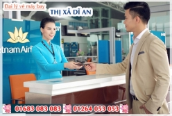 Đại lý vé máy bay giá rẻ tại Thị xã Dĩ An của Vietnam Airlines bán vé rẻ nhất thị trường Đại lý vé máy bay giá rẻ tại Thị xã Dĩ An của Vietnam Airlines