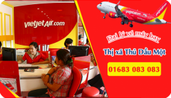Đại lý vé máy bay giá rẻ tại Thị xã Thủ Dầu Một của Vietjet Air bán vé rẻ nhất thị trường Đại lý vé máy bay giá rẻ tại Thị xã Thủ Dầu Một của Vietjet Air