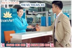Đại lý vé máy bay giá rẻ tại Thị xã Thuận An của Vietnam Airlines bán vé rẻ nhất thị trường Đại lý vé máy bay giá rẻ tại Thị xã Thuận An của Vietnam Airlines