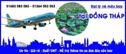Đại lý vé máy bay giá rẻ tại Đồng Tháp