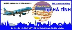 Đại lý vé máy bay giá rẻ tại Hà Tĩnh
