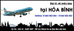 Đại lý vé máy bay giá rẻ tại Hòa Bình