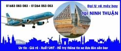 Đại lý vé máy bay giá rẻ tại Ninh Thuận