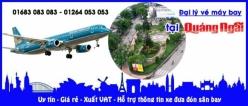 Đại lý vé máy bay giá rẻ tại Quảng Ngãi
