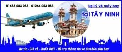 Đại lý vé máy bay giá rẻ tại Tây Ninh