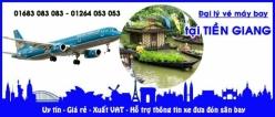 Đại lý vé máy bay giá rẻ tại Tiền Giang