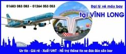 Đại lý vé máy bay giá rẻ tại Vĩnh Long