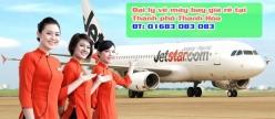 Đại lý vé máy bay giá rẻ tại thành phố Thanh Hóa của Jetstar