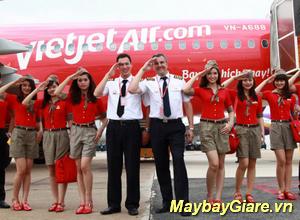 Hướng dẫn đặt vé máy  bay Vietjet Air giá rẻ tại MaybayGiare