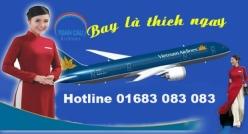 Vé máy bay giá rẻ Đồng Hới đi Thanh Hóa của Vietnamairlines