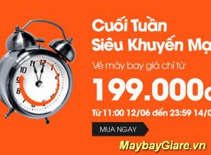 JetStar bán vé giá rẻ đi Thái, Sing, Phú Yên chỉ từ 199K