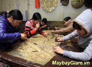 Làng nghề chạm bạc Đồng Xâm, Thái Bình, những kỳ thú, tinh hoa của nghề chạm bạc Làng nghề chạm bạc Đồng Xâm
