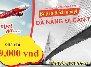Vé máy bay Đà Nẵng đi Cần Thơ giá rẻ nhất, khuyến mãi hấp dẫn mỗi ngày Vé máy bay Đà Nẵng đi Cần Thơ