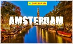 Đặt mua vé máy bay đi Amsterdam giá rẻ nhất Vé máy bay đi Amsterdam