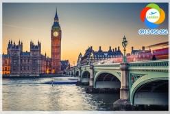 Đặt mua vé máy bay đi London giá rẻ nhất Vé máy bay đi London