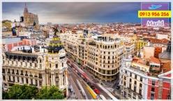 Đặt mua vé máy bay đi Madrid giá rẻ nhất Vé máy bay đi Madrid