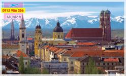 Đặt mua vé máy bay đi Munich giá rẻ nhất Vé máy bay đi Munich