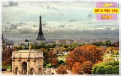 Đặt mua vé máy bay đi Paris giá rẻ nhất Vé máy bay đi Paris