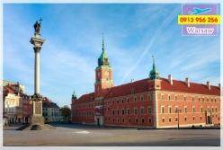 Đặt mua vé máy bay đi Warsaw giá rẻ nhất Vé máy bay đi Warsaw