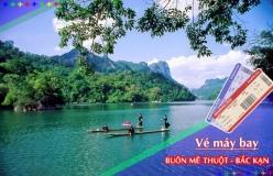 Đặt vé máy bay giá rẻ Buôn Mê Thuột đi Bắc Kạn Vé máy bay giá rẻ Buôn Mê Thuột đi Bắc Kạn