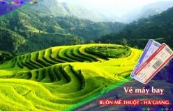 Đặt vé máy bay giá rẻ Buôn Mê Thuột đi Hà Giang Vé máy bay giá rẻ Buôn Mê Thuột đi Hà Giang