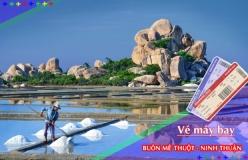 Đặt vé máy bay giá rẻ Buôn Mê Thuột đi Ninh Thuận Vé máy bay giá rẻ Buôn Mê Thuột đi Ninh Thuận