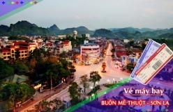 Đặt vé máy bay giá rẻ Buôn Mê Thuột đi Sơn La Vé máy bay giá rẻ Buôn Mê Thuột đi Sơn La