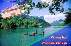 Đặt vé máy bay giá rẻ Côn Đảo đi Bắc Kạn Vé máy bay giá rẻ Côn Đảo đi Bắc Kạn