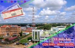 Đặt vé máy bay giá rẻ Côn Đảo đi Bình Phước Vé máy bay giá rẻ Côn Đảo đi Bình Phước