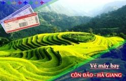 Đặt vé máy bay giá rẻ Côn Đảo đi Hà Giang Vé máy bay giá rẻ Côn Đảo đi Hà Giang