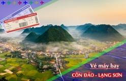 Đặt vé máy bay giá rẻ Côn Đảo đi Lạng Sơn Vé máy bay giá rẻ Côn Đảo đi Lạng Sơn