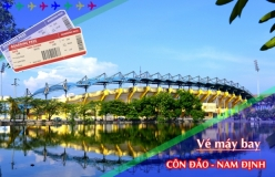 Đặt vé máy bay giá rẻ Côn Đảo đi Nam Định Vé máy bay giá rẻ Côn Đảo đi Nam Định