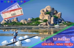 Đặt vé máy bay giá rẻ Côn Đảo đi Ninh Thuận Vé máy bay giá rẻ Côn Đảo đi Ninh Thuận