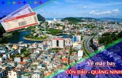 Đặt vé máy bay giá rẻ Côn Đảo đi Quảng Ninh Vé máy bay giá rẻ Côn Đảo đi Quảng Ninh