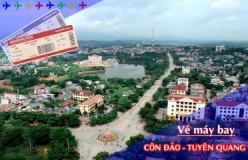 Vé máy bay giá rẻ Côn Đảo đi Tuyên Quang