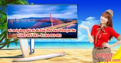 Vé máy bay giá rẻ Cà Mau đi Cần Thơ của Vietjet Air